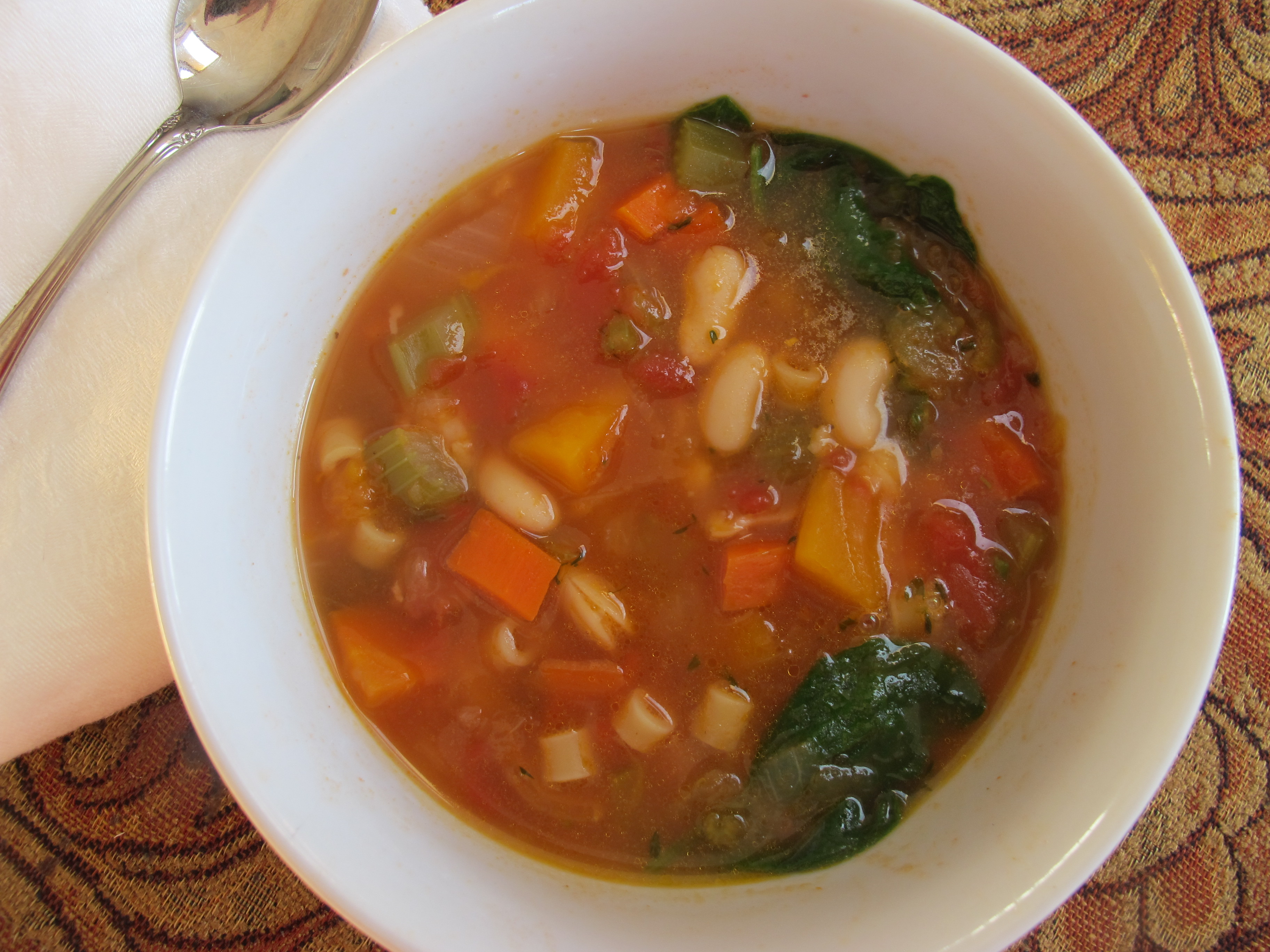 ... – Winter Minestrone and Garlic Bruschetta | More Time at the Table