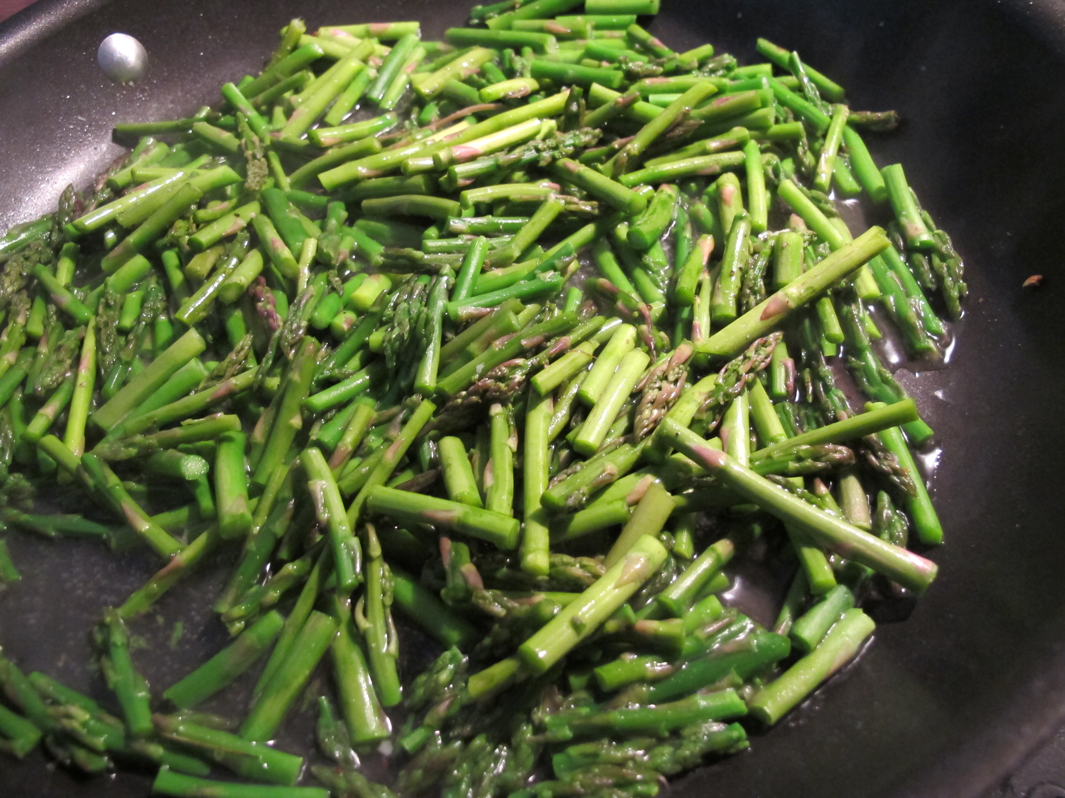 Season The Asparagus With A Sprinkle Each Of Salt And Pepper Let Cook 23  Minutes, Stirring, Or Until Just Barely Tender