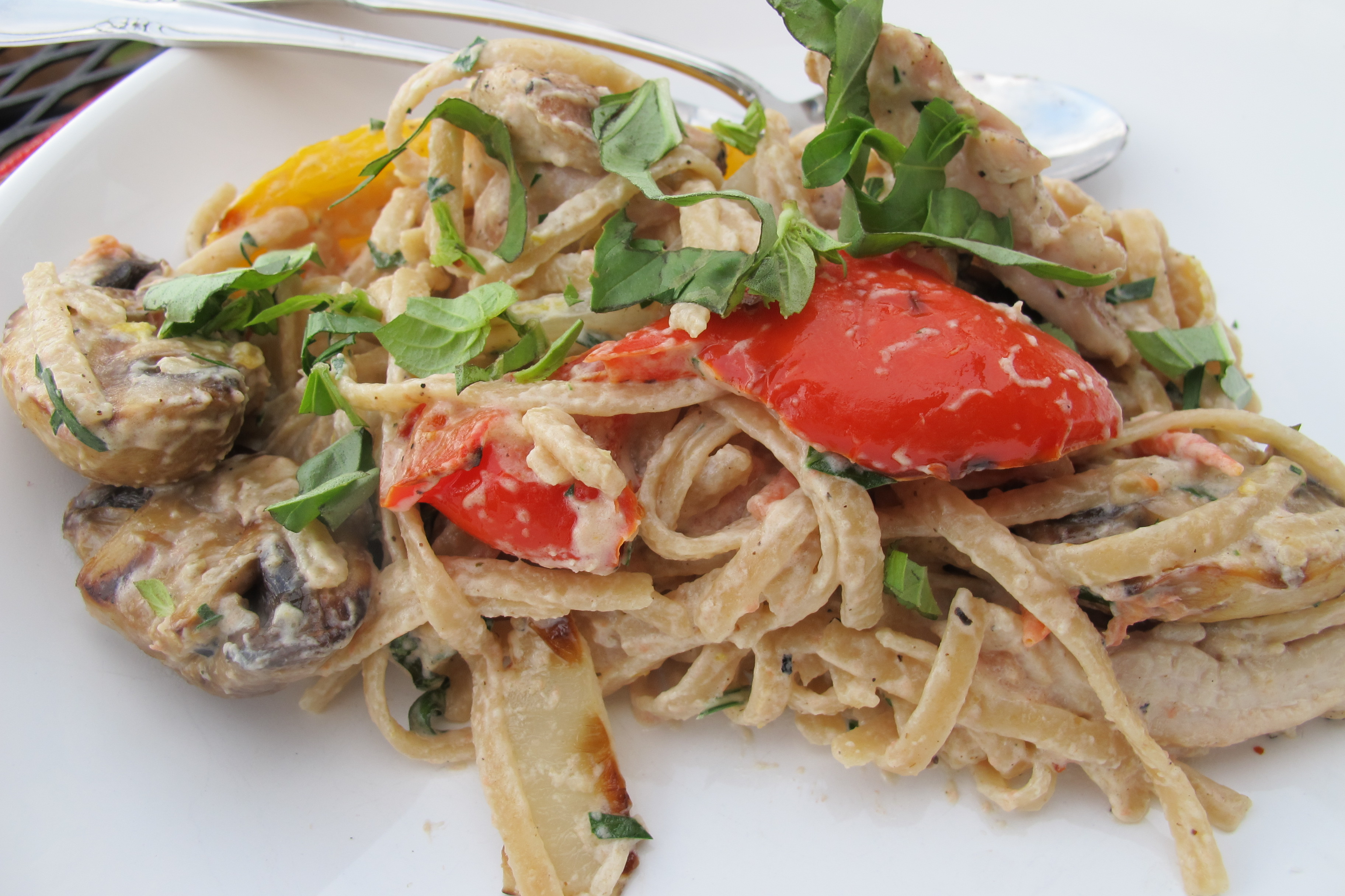 and herbs recipes dishmaps pasta with grilled vegetables and herbs ...