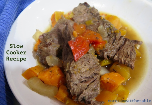 Food-Beef-Slow Cooker w butternut squash