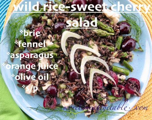 Food-Salads-Wild Rice