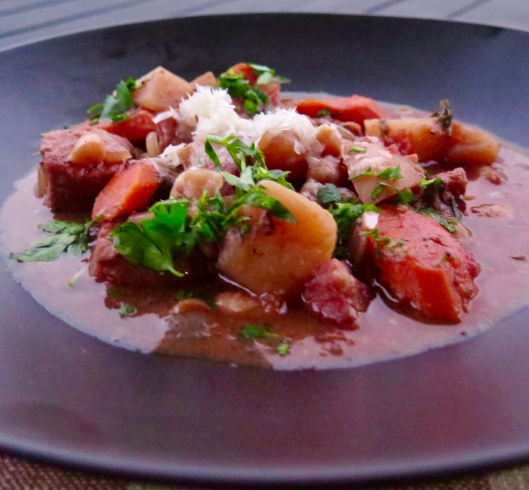 More Time, French Style: Slow Cooker French Pork Stew with ...